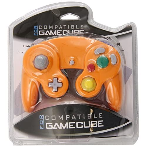 Image 0 of Generic Orange Spice Controller Pad For GameCube And Wii