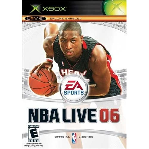 NBA Live 06 Xbox For Xbox Original Basketball