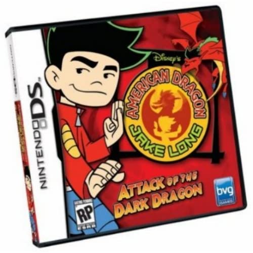 American Dragon Jake Long: Attack Of The Dark Dragon For Nintendo DS DSi 3DS 2DS
