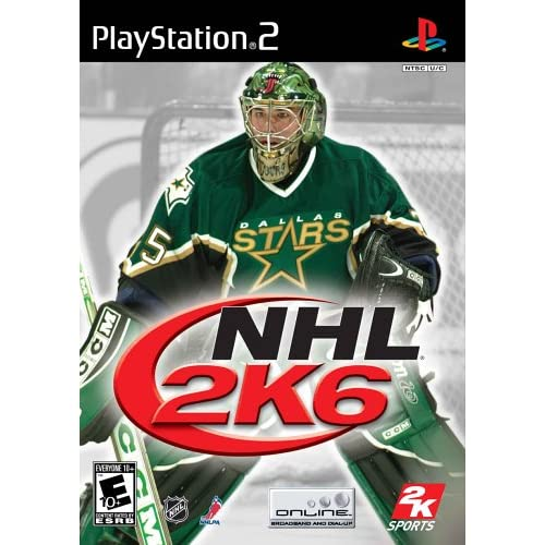 NHL 2K6 For PlayStation 2 PS2 Hockey