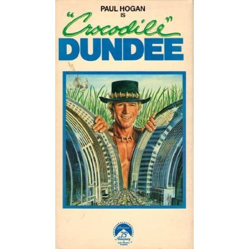 Crocodile Dundee On VHS With Linda Kozlowski