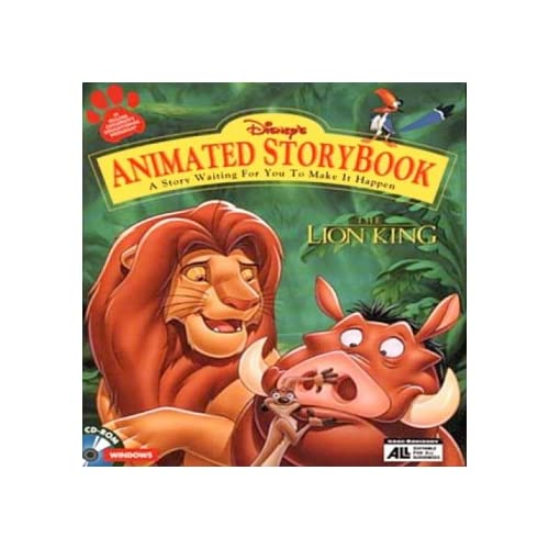 Lion King Animated Storybook Software Disney