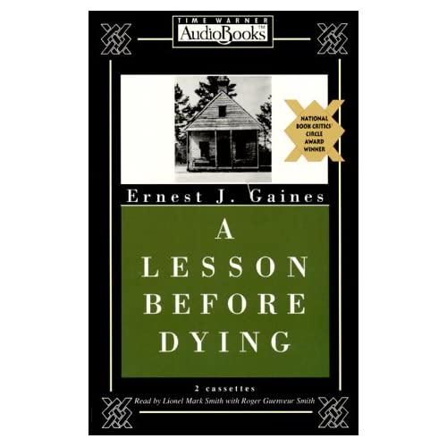 A Lesson Before Dying On Audio Cassette