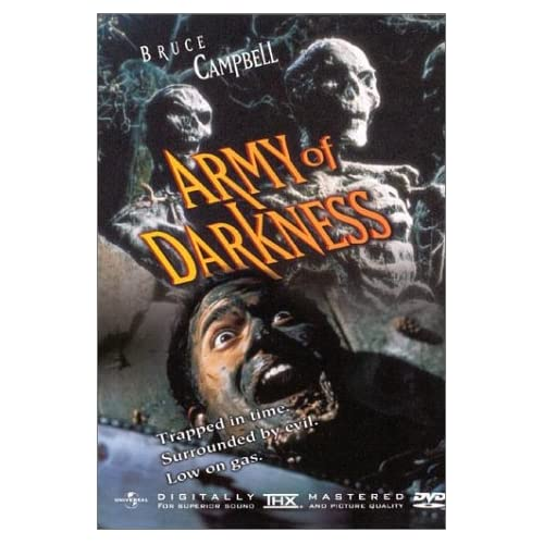 Image 0 of Army Of Darkness On DVD With Bruce Campbell
