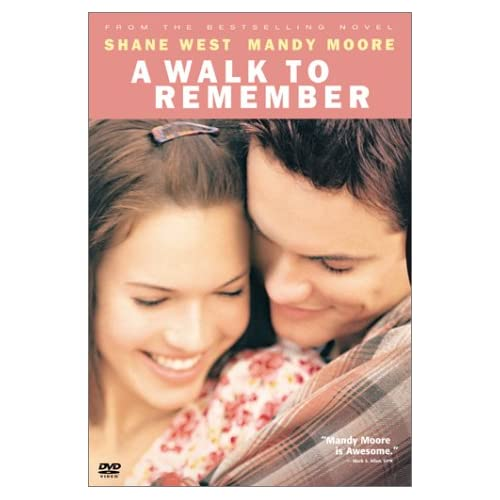 Image 0 of A Walk To Remember On DVD with Mandy Moore