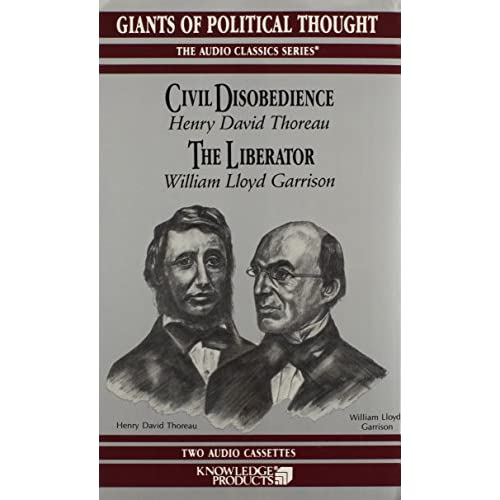 Image 0 of Civil Disobedience And The Liberator Audio Classics On Audio Cassette
