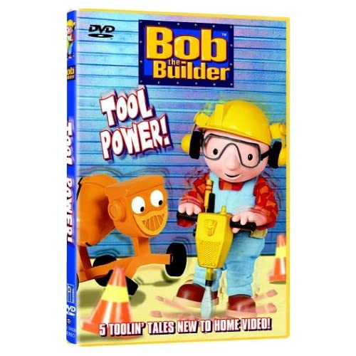 Image 0 of Bob The Builder Tool Power On DVD With Rob Rackstraw