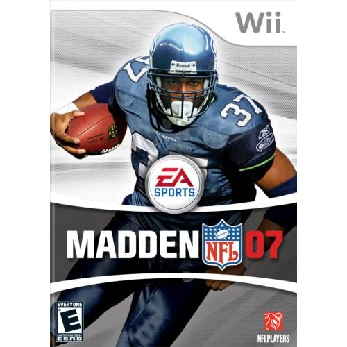 Madden NFL 07 For Wii Football