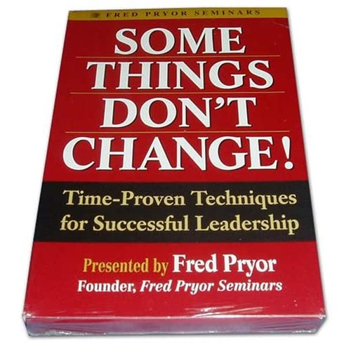 Image 0 of Some Things Don't Change! Time-Proven Techniques For Successful