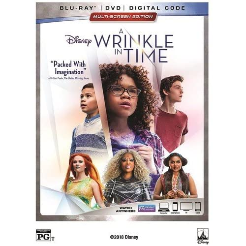 A Wrinkle In Time Blu-Ray On Blu-Ray With Oprah Winfrey Disney