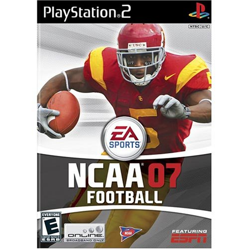 NCAA Football 07 For PlayStation 2 PS2 With Manual and Case