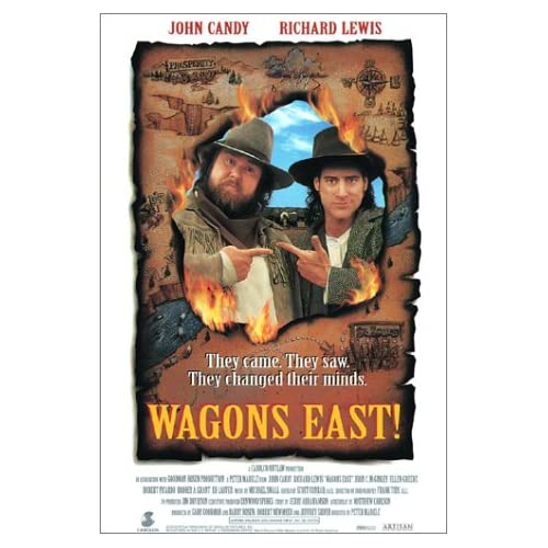 Wagons East! On DVD with John Candy