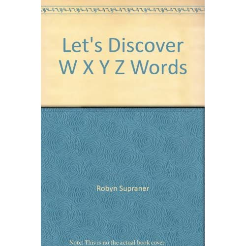Image 0 of Let's Discover W X Y Z Words On Audio Cassette