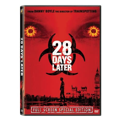 Image 0 of 28 Days Later Full Screen Edition On DVD With Cillian Murphy Horror