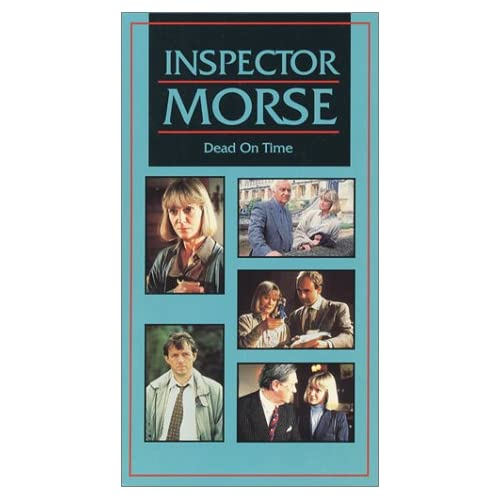 Image 0 of Inspector Morse Dead On Time On VHS With John Thaw