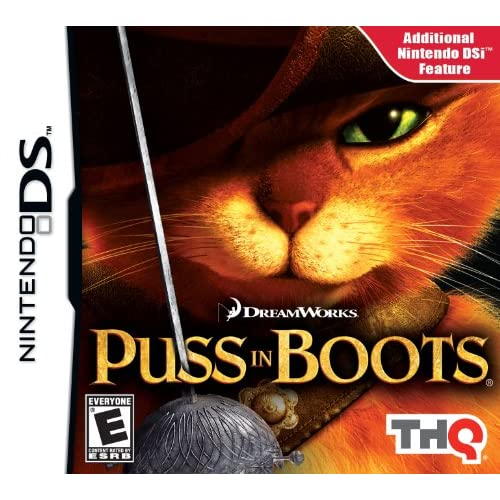 Image 0 of Puss In Boots For Nintendo DS DSi 3DS 2DS