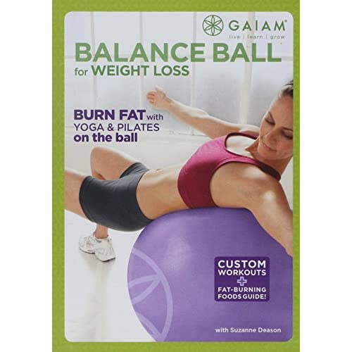 Image 0 of Balance Ball For Weight Loss On DVD With Suzanne Deason Exercise