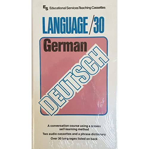 Image 0 of LANGUAGE30 German With Book German And English Edition By Educational Services O