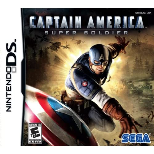 Image 0 of Captain America: Super Soldier For Nintendo DS DSi 3DS 2DS