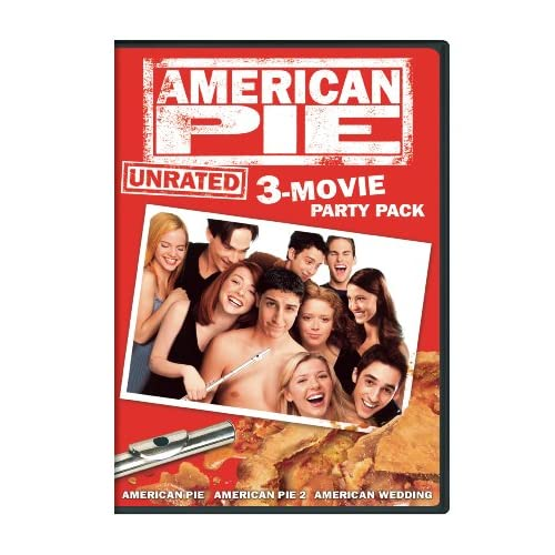 Image 0 of American Pie: Unrated 3-MOVIE Party Pack American Pie / American Pie 2 / America