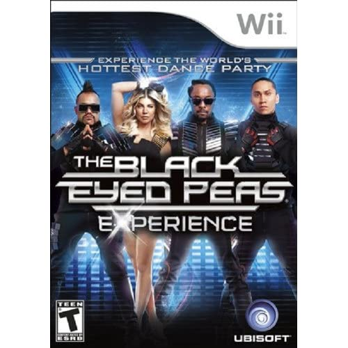 The Black Eyed Peas Experience For Wii Music With Manual And Case