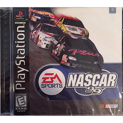 NASCAR 99 For PlayStation 1 PS1 Racing