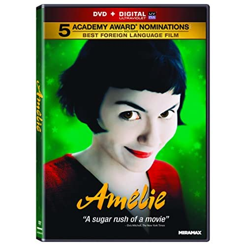 Image 0 of Amelie On DVD With Audrey Tautou