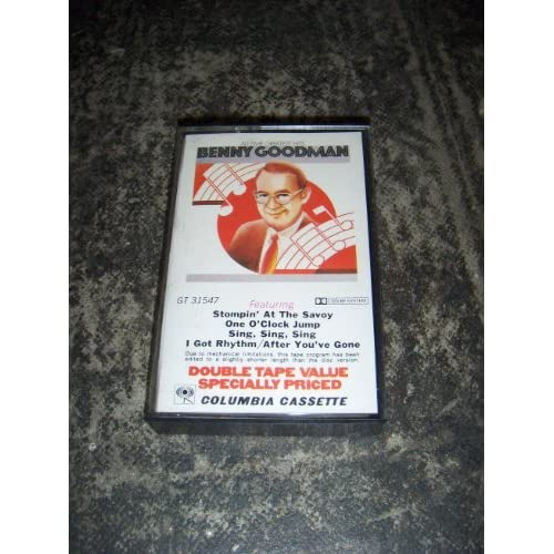 Image 0 of All-Time Greatesthits By Benny Goodman On Audio Cassette