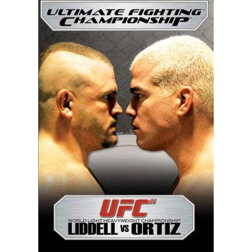 Image 0 of Ultimate Fighting Championship Vol 66 Liddell Vs Ortiz On DVD with