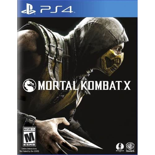 Image 0 of Mortal Kombat X For PlayStation 4 PS4 Fighting