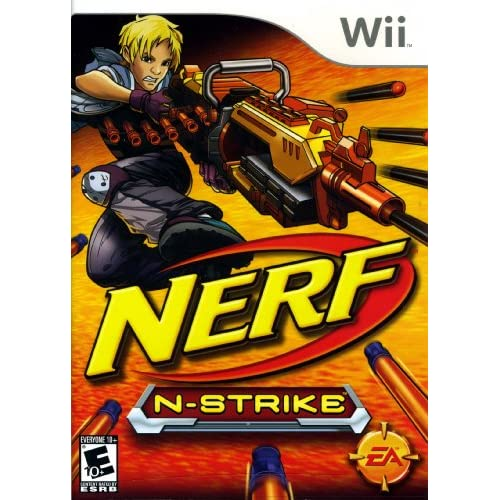 Image 0 of Nerf N Strike Game Only For Wii And Wii U Shooter