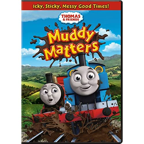 Image 0 of Thomas & Friends: Muddy Matters On DVD With Michael Brandon