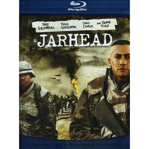 Jarhead Blu-Ray On Blu-Ray With Jake Gyllenhaal Drama