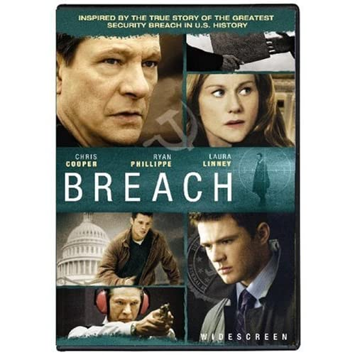 Image 0 of Breach Widescreen Edition On DVD With Chris Cooper Mystery