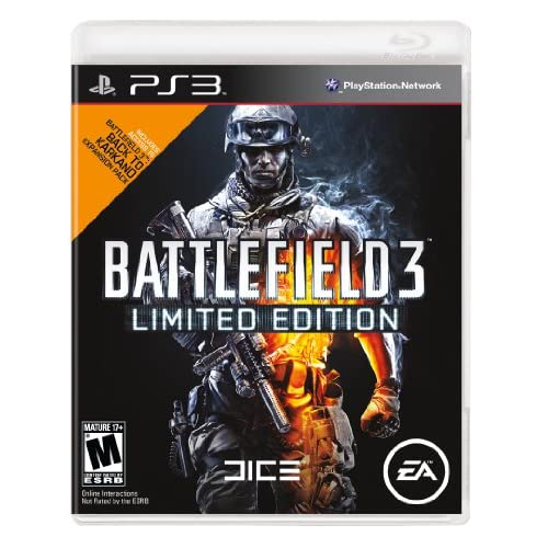 Battlefield 3: Limited Edition For PlayStation 3 PS3 Shooter