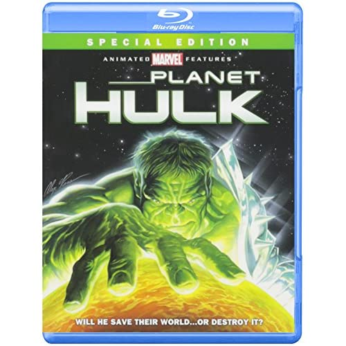 Image 0 of Planet Hulk Blu-Ray On Blu-Ray