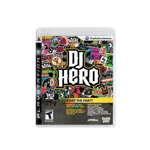 DJ Hero 1 For PlayStation 3 PS3