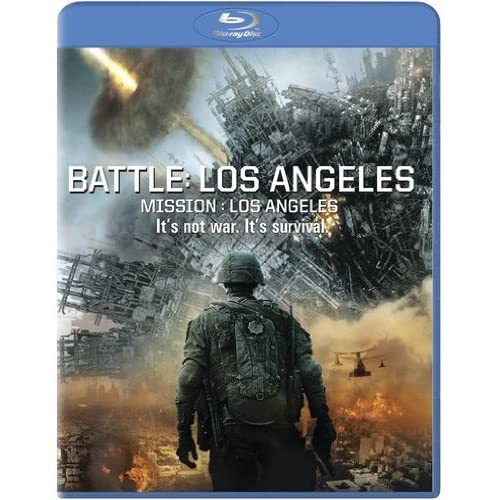 Image 0 of Battle: Los Angeles Blu-Ray Blu-Ray 2011 Aaron Eckhart Michelle Rodriguez On Blu