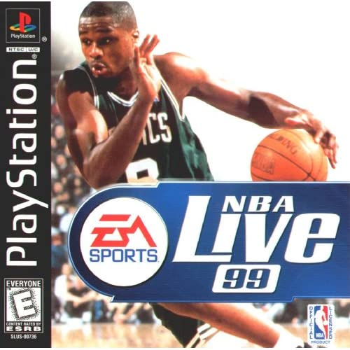 Image 0 of NBA Live 99 For PlayStation 1 PS1 Basketball