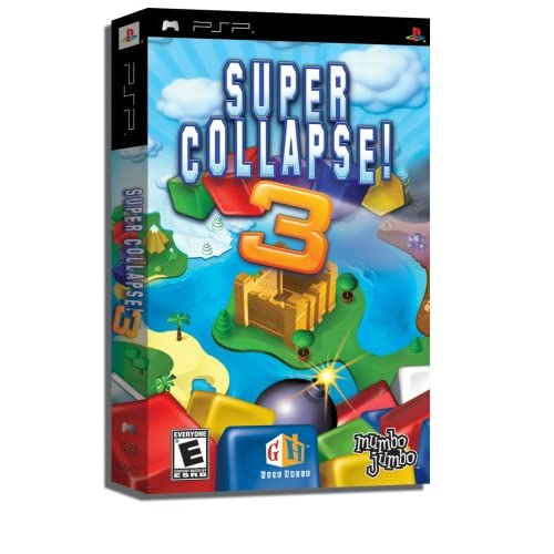 Image 0 of Super Collapse! 3 Sony For PSP UMD Puzzle