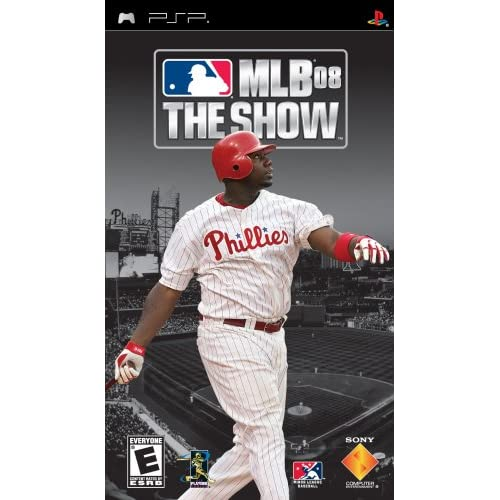 MLB 08 The Show Sony For PSP UMD Baseball