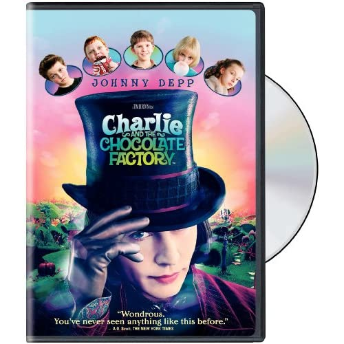 Image 0 of Charlie And The Chocolate Factory Widescreen Edition On DVD With Johnny Depp