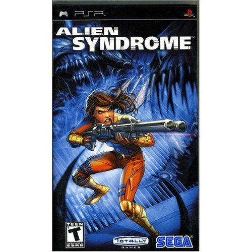 Image 0 of Alien Syndrome For PSP UMD