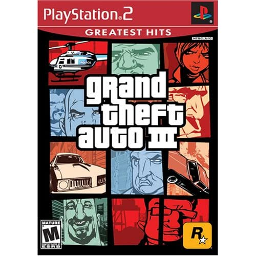 Image 0 of Grand Theft Auto III PS2 For PlayStation 2