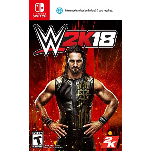 Image 0 of WWE 2K18 Nintendo Switch 2017 For Nintendo Switch Wrestling