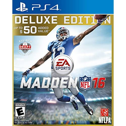 Image 0 of Madden NFL 16 Deluxe Edition For PlayStation 4 PS4 Football