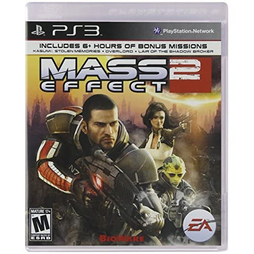 Mass Effect 2 For PlayStation 3 PS3 Shooter