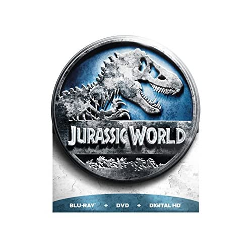 Image 0 of Jurassic World Limited Edition Blu-Ray DVD Digital HD On Blu-Ray With Chris Prat