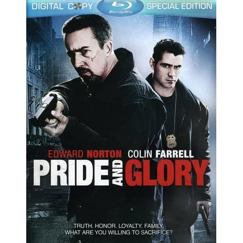 Image 0 of Pride And Glory Blu-Ray On Blu-Ray With Edward Norton Mystery