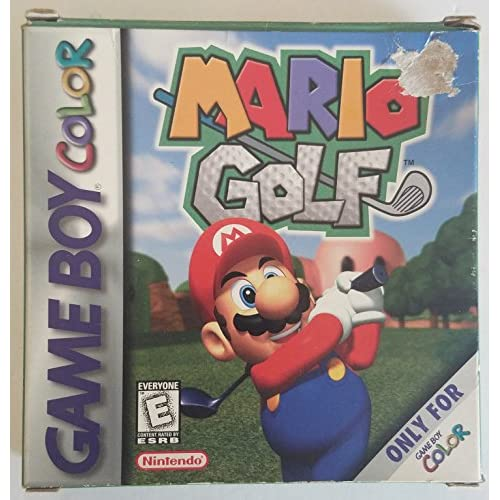 Mario Golf On Gameboy Color Puzzle